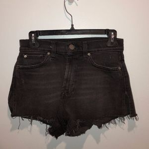 Urban Outfitters BDG Black Jean Shorts